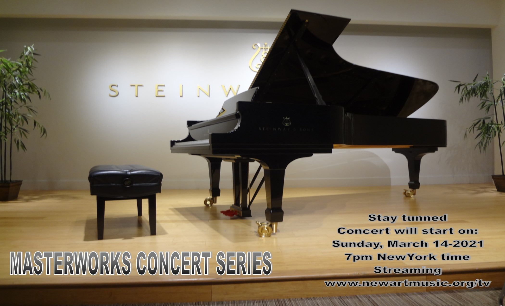 Stay tunned STEINWAY HALL PIANO PIC